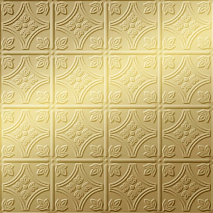 FlexLam 3D Wall Panel | 4ft W x 10ft H | Savannah Pattern | Mirror Gold Finish