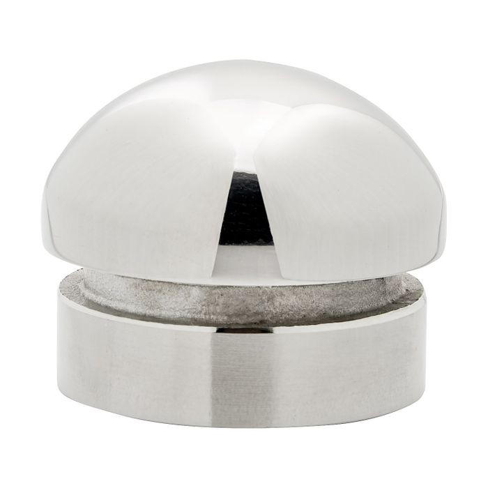 1-1/2in Dia | Polished Stainless Steel Finish | End Caps | S82-223 Series
