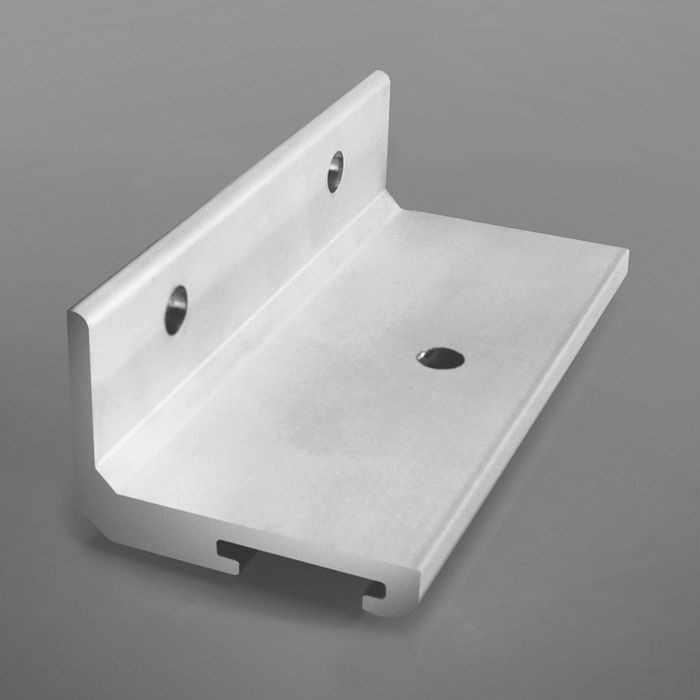 Wide Lateral Track Bracket 2 Per Bag