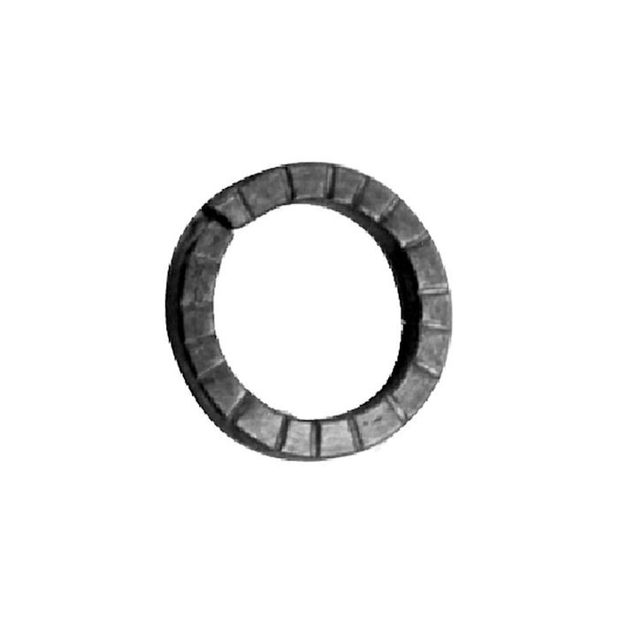 "1/4"" x 1"" Inside Dia Wrought Iron Rings"