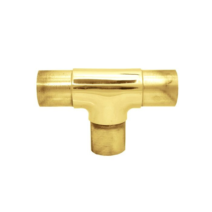 "1-1/2"" Diameter x 2"" H Polished Brass Finish Flush Fitting"