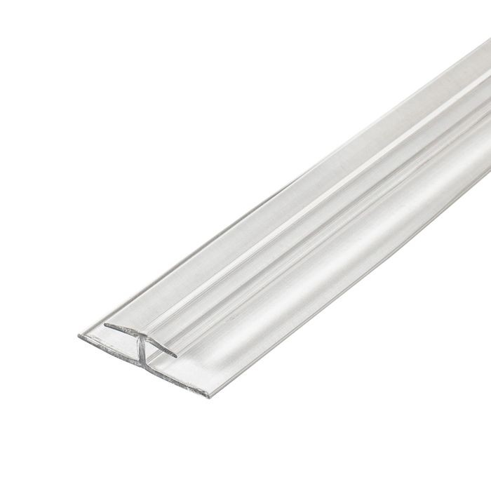 1/8in Clear Butyrate | Divider Moulding | 12ft Length