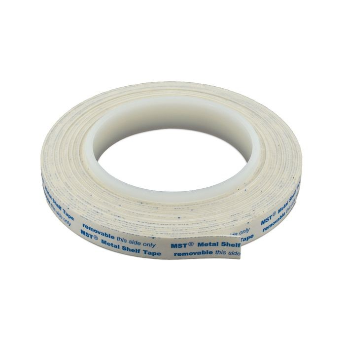 "1/2"" Wide x 1/32"" Thick Removeable Tape for Metal Shelving"