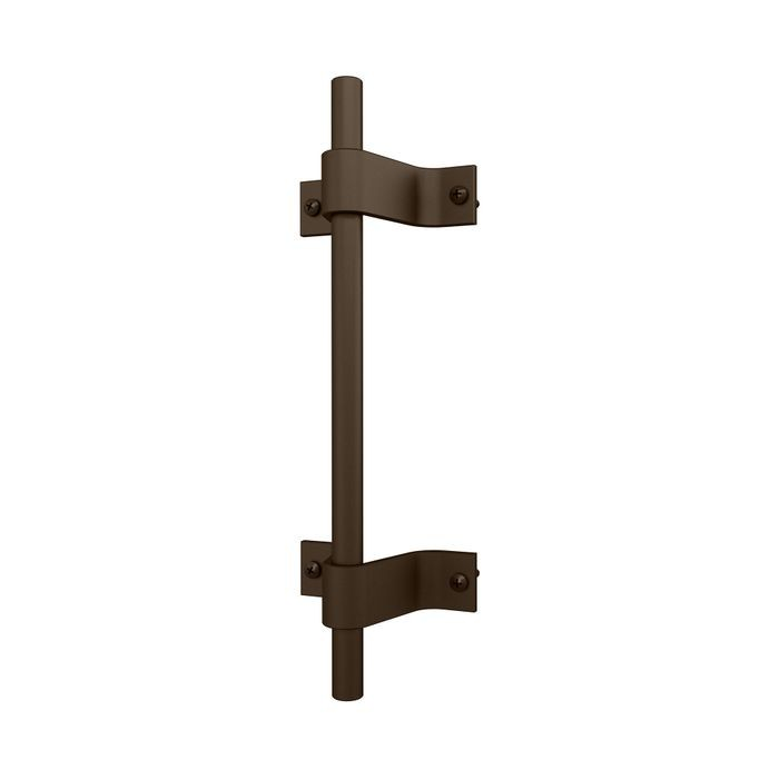 10in H  | Oil Rubbed Bronze Powder Coated Finish | Steel Pull