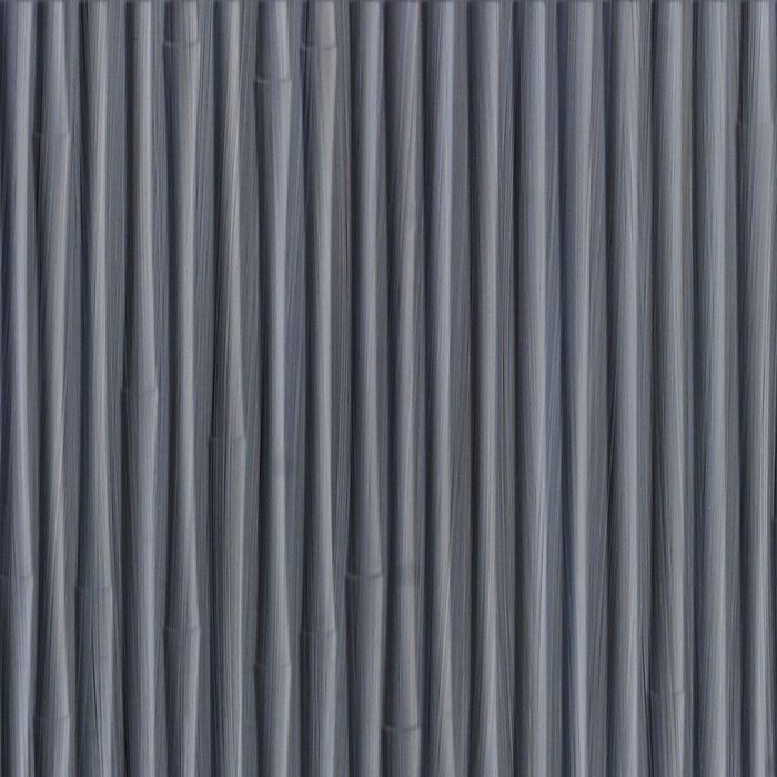 FlexLam 3D Wall Panel | 4ft W x 10ft H | Bamboo Pattern | Steel Strata Finish