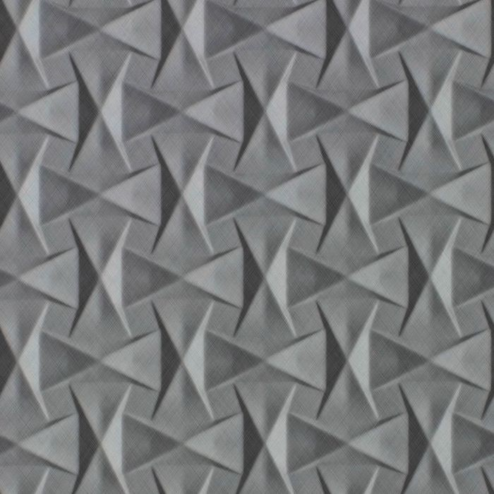 10' Wide x 4' Long Bowtie Pattern Diamond Brushed Finish Thermoplastic Flexlam Wall Panel