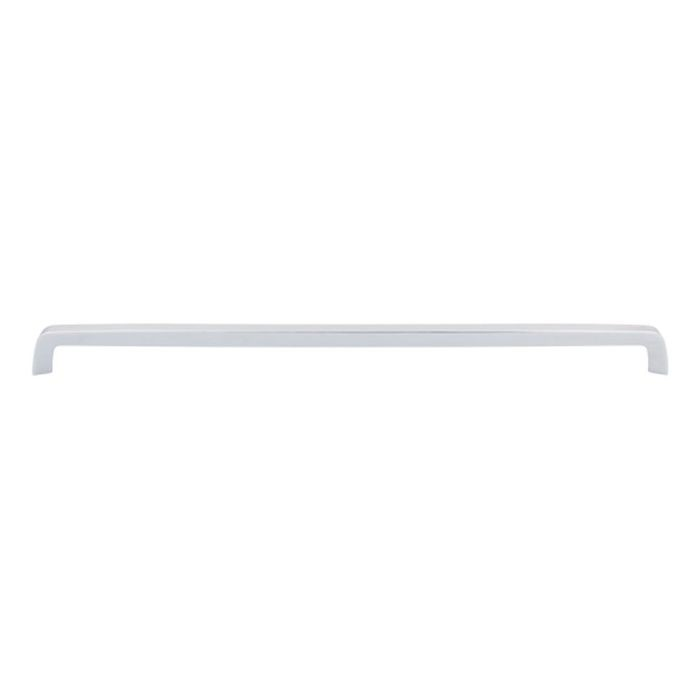 "Tapered Bar Pull 17 5/8"" C/C Polished Chrome"