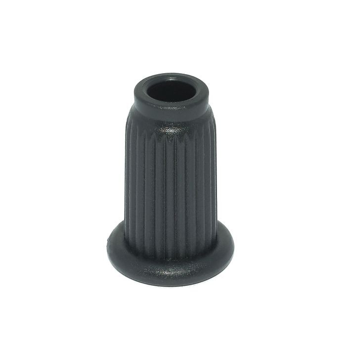 "1"" x 16 Gauge Round Plastic Socket for 7/16 Stem"