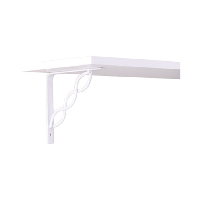 "White 8""H X 8""W Scroll Bracket"
