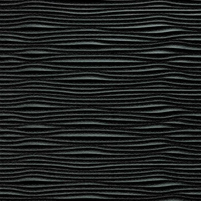 10' Wide x 4' Long Gobi Pattern Eccoflex Black Finish Thermoplastic Flexlam Wall Panel