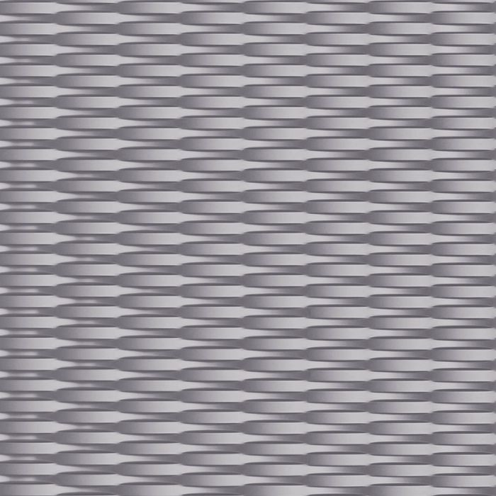 10' Wide x 4' Long Interlink Pattern Lavender Finish Thermoplastic FlexLam Wall Panel