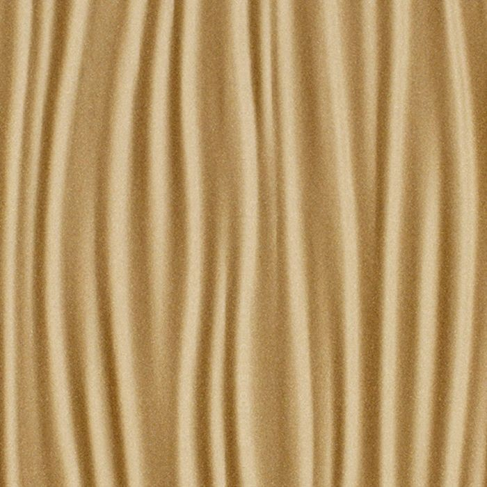 10' Wide x 4' Long Kalahari Pattern Argent Gold Finish Thermoplastic Flexlam Wall Panel