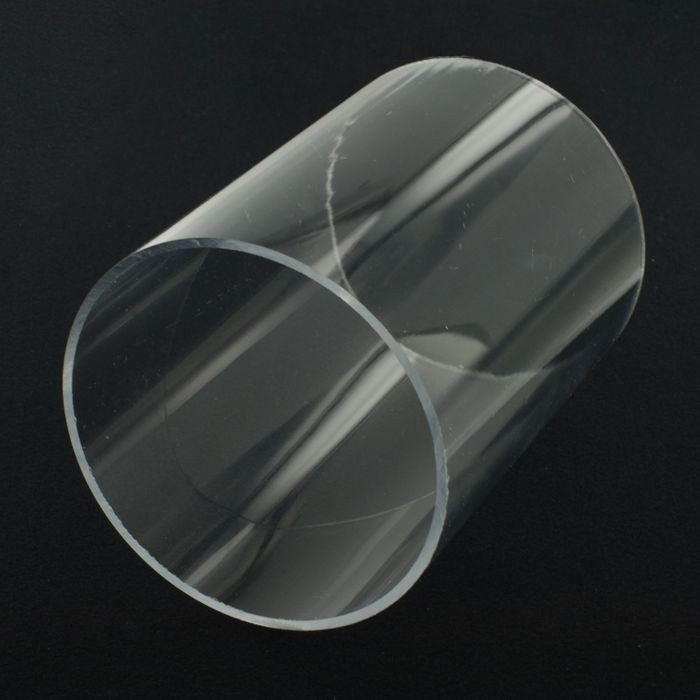"Clear Acrylic Round Tube 6/"" OD x  5 3//4/"" ID x 4-3//4/"" Long"