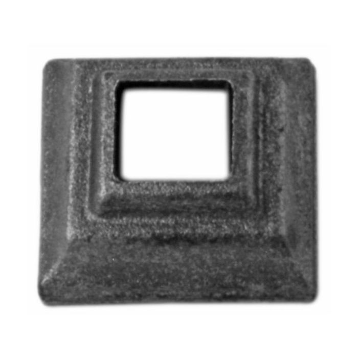 "1-1/2"" Square Wrought Iron Shoe"