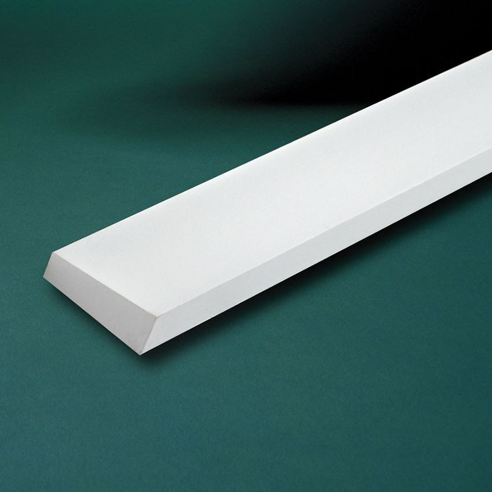 "1-/2"" High x 3-1/2"" Projection x 10' Long Window Sill Moulding"