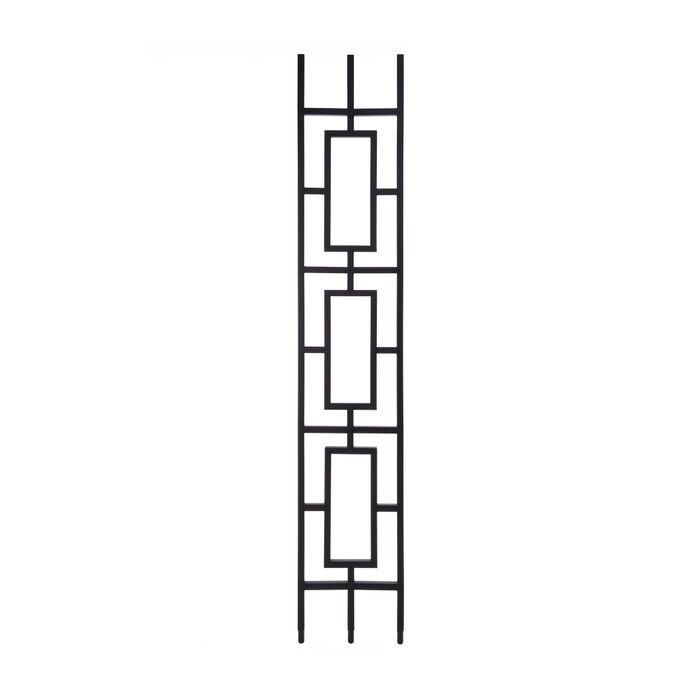 Modern Powder Coated Baluster | Hollow | Rectangles | 1/2in Sq x 44in H | PCB-SPN3 Series