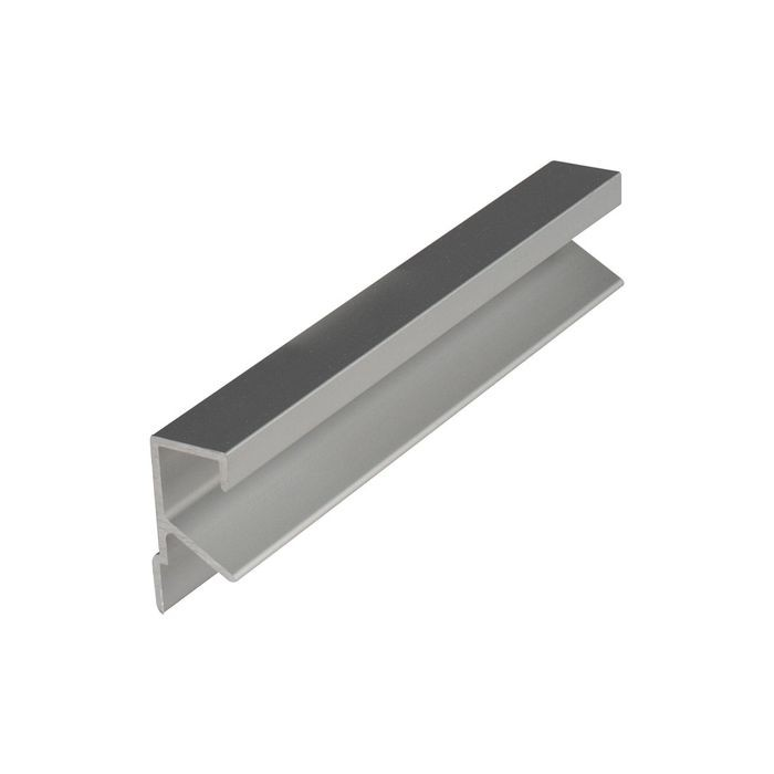 Satin Finish Drawer Pull Clear Anodized 12 Ft.
