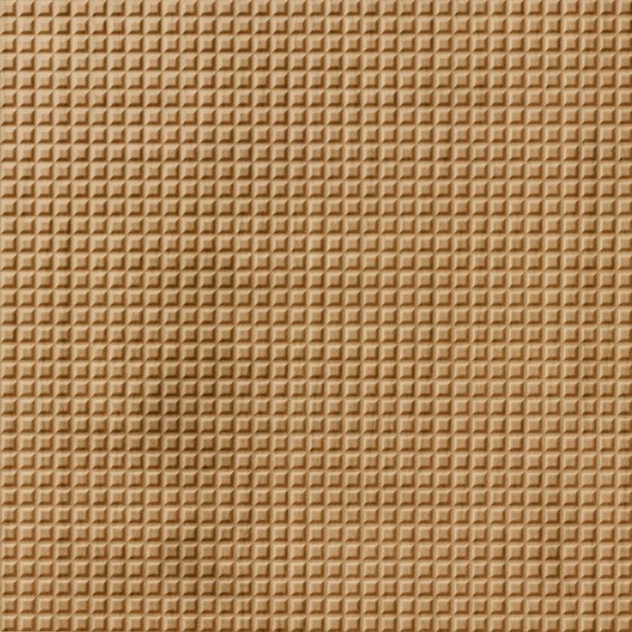 10' Wide x 4' Long Square 5 Pattern Oregon Ash Finish Thermoplastic Flexlam Wall Panel