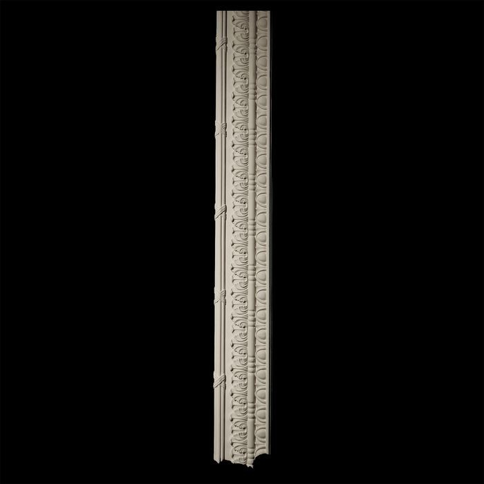 4-3/4in H x 1in Proj | Unfinished Polymer Resin Panel Moulding | 5ft Long | Style 93-R5-VSL
