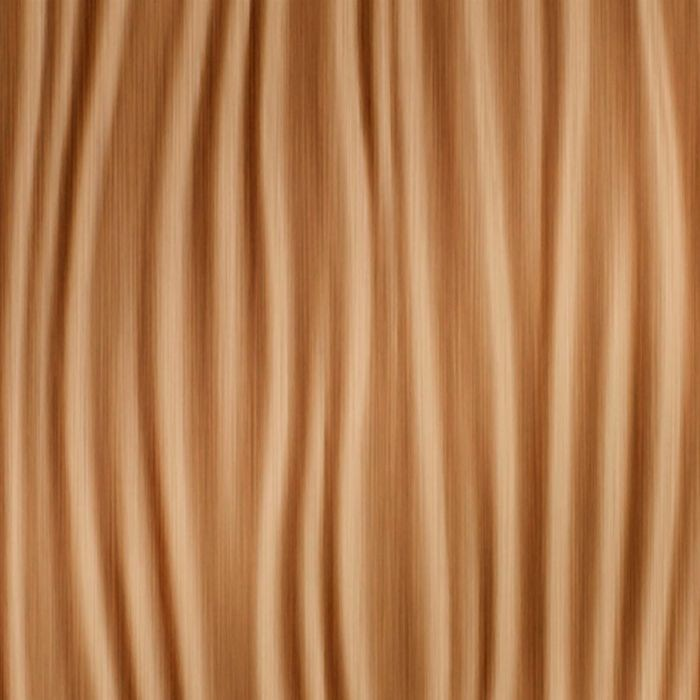 10' Wide x 4' Long Kalahari Pattern Brushed Copper Finish Thermoplastic Flexlam Wall Panel