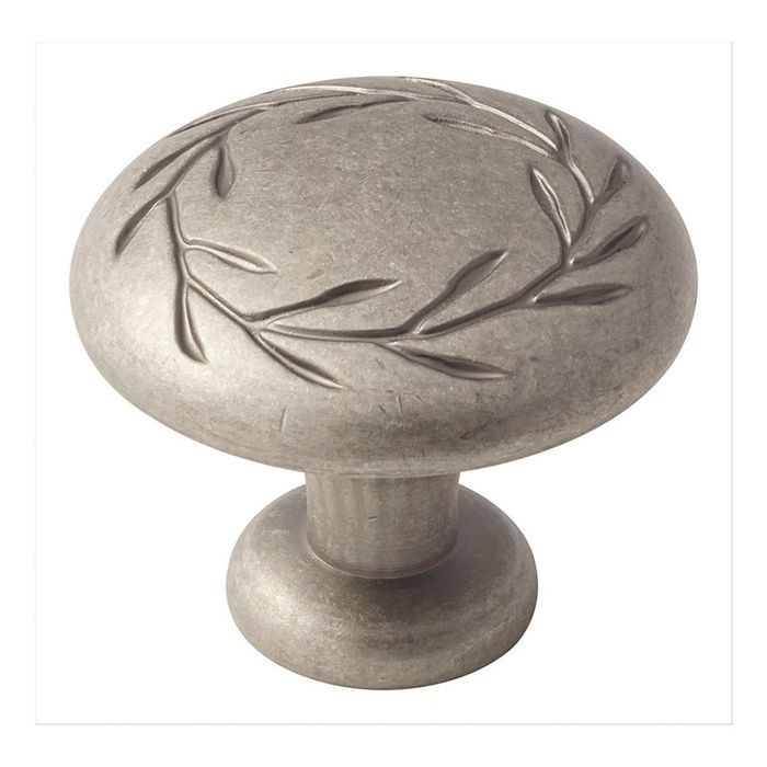 "1 3/4"" Diameter Knob Weathered Nickel"