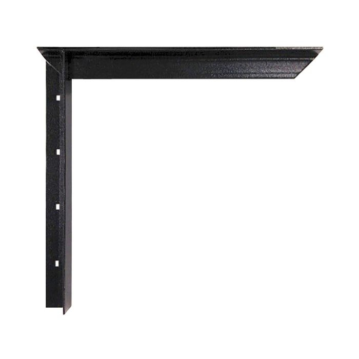 12in x 12in | Powder Coated White Finish | Hidden Steel Countertop Support Bracket | CSB Series
