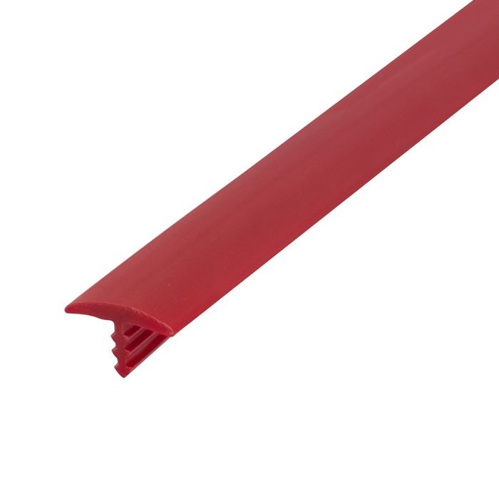 "1/2"" 324 Red Flexible Polyethylene Center Barb Tee Moulding 250' Coil"