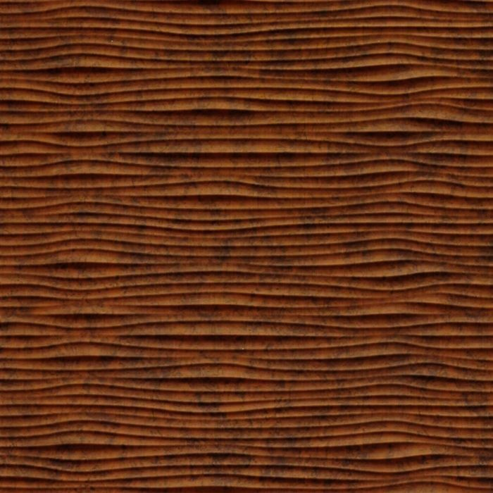 10' Wide x 4' Long Gobi Pattern Moonstone Copper Finish Thermoplastic Flexlam Wall Panel