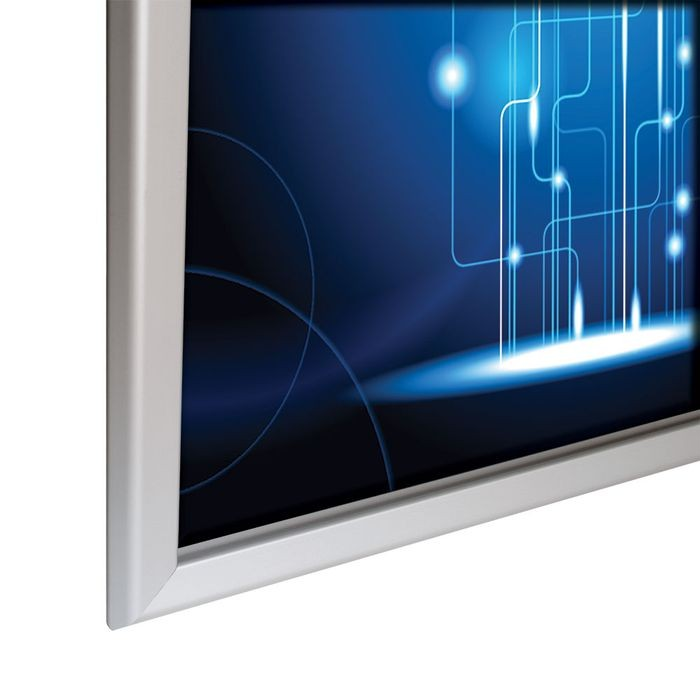 "Alu Snap Frame 1.25"" Profile 36"" X 48"" Silver Anodized"