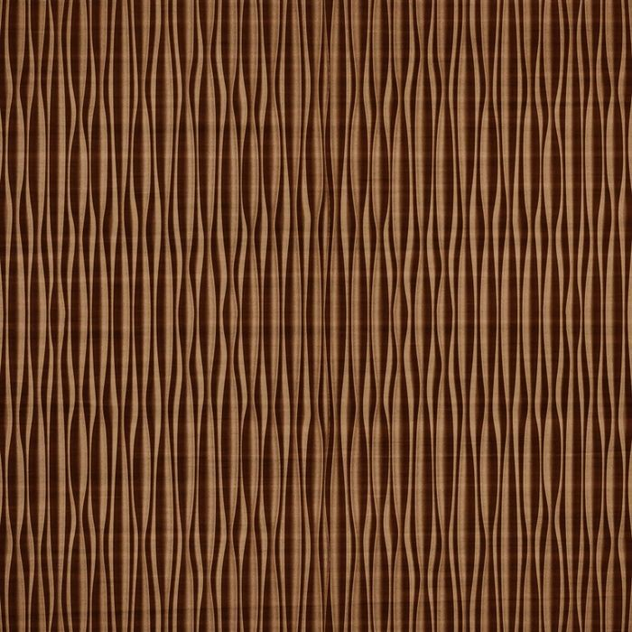 FlexLam 3D Wall Panel | 4ft W x 10ft H | Mojave Pattern | Pearwood Vertical Finish