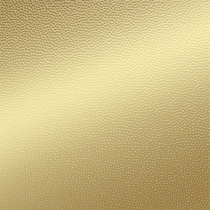 FlexLam 3D Wall Panel | 4ft W x 10ft H | Hammered Pattern | Mirror Gold Finish