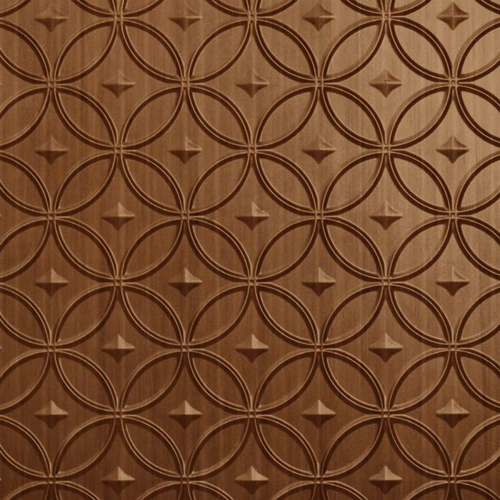 10' Wide x 4' Long Celestial Pattern Pearwood Finish Thermoplastic Flexlam Wall Panel