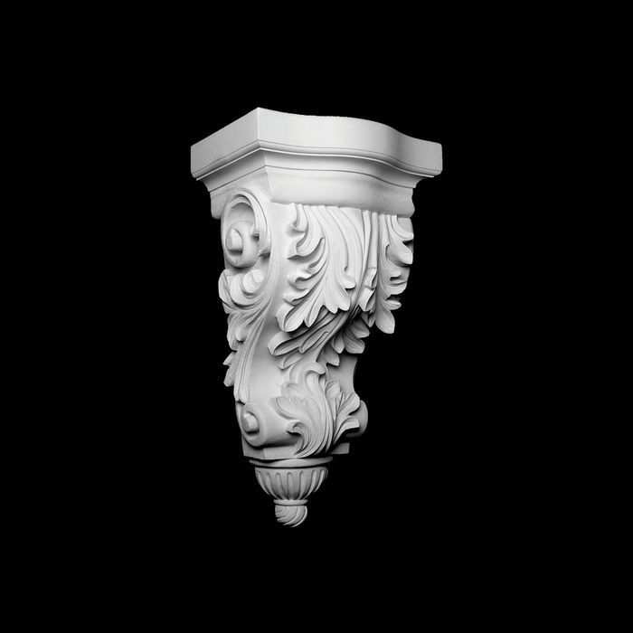 Unfinished Polymer Resin Artisan Collection Corbel