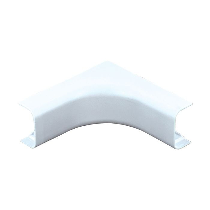 "1-1/2"" Long White Plastic Inside Corner"