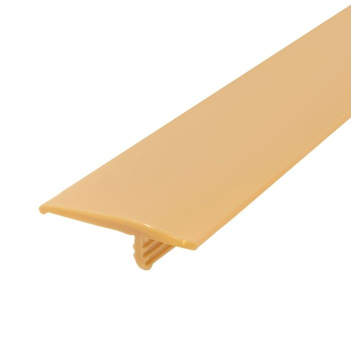 1-1/4in 579 Tan Flexible Polyethylene | OffsetBarb Tee Moulding | 250ft Coil