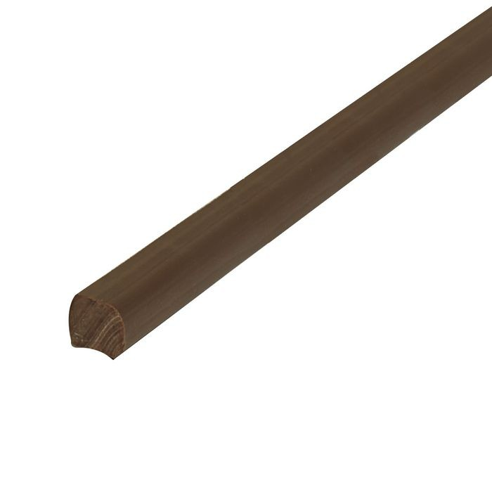 "1/4"" x 1/4"" Brown Staple Type Panel and Glass Retainer 500' Coil"