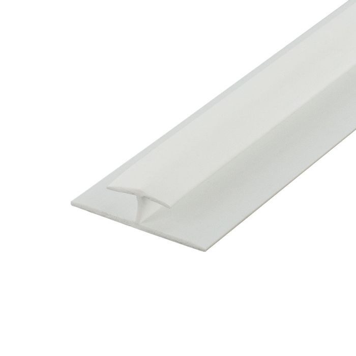 1/4in White Styrene | Divider Moulding | 8ft Length