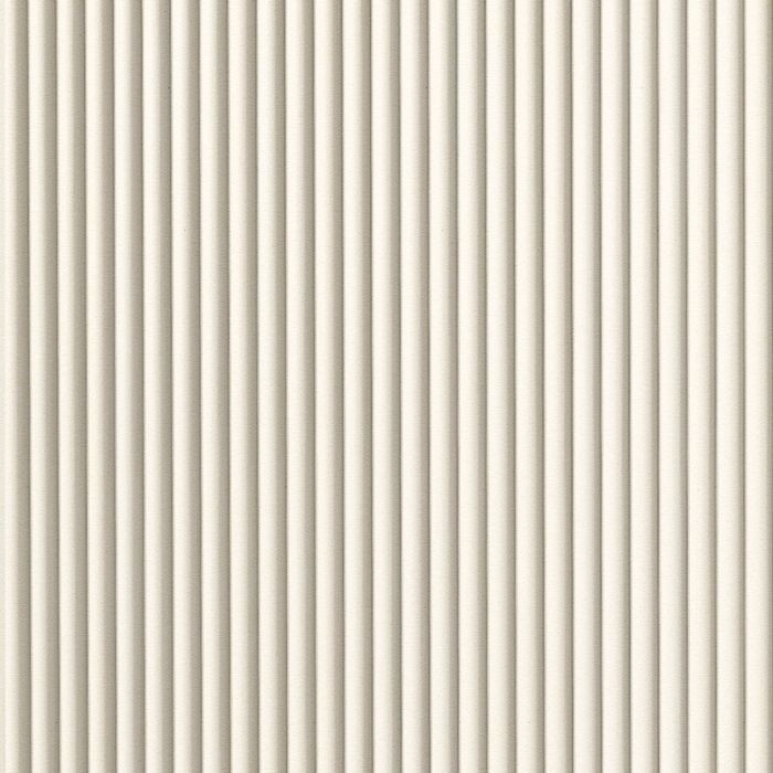FlexLam 3D Wall Panel | 4ft W x 10ft H | Rib2 Pattern | Winter White Finish