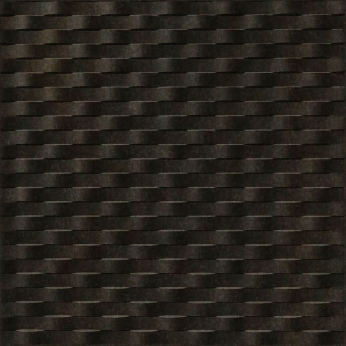 FlexLam 3D Wall Panel | 4ft W x 10ft H | Weave Pattern | Smoked Pewter Finish