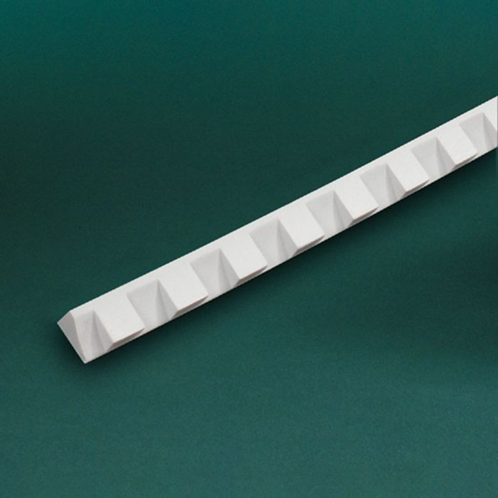 "1-1/4"" High x 5/8"" Wide Small Dentil Moulding 8' Length"