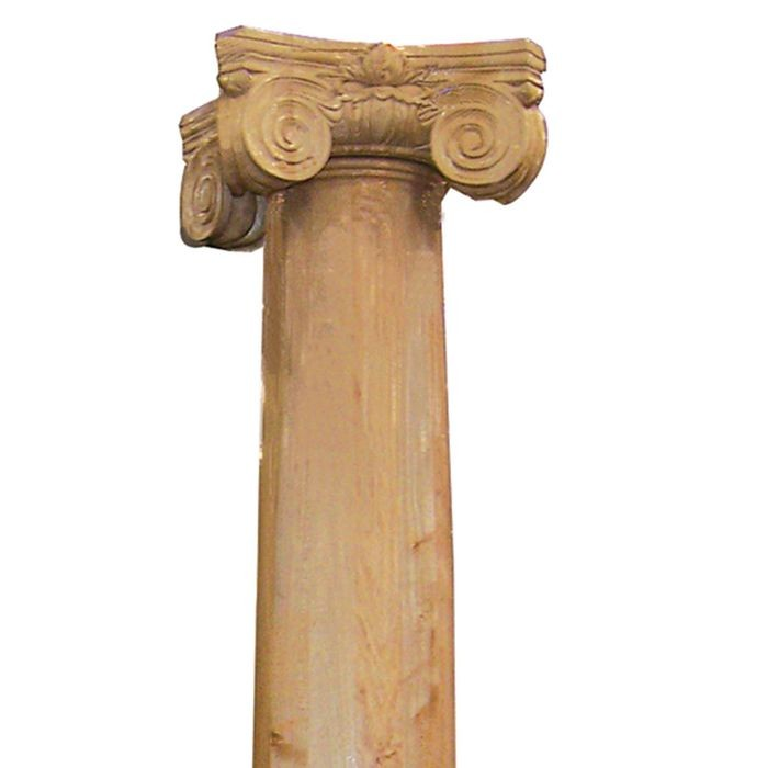 "Red Oak Scamozzi Style Capital for 11-1/4"" Diameter Tapered Columns"