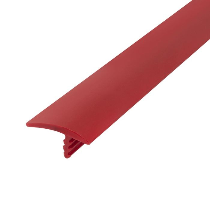 13/16in 324 Red Flexible Polyethylene | OffsetBarb Tee Moulding | 250ft coil