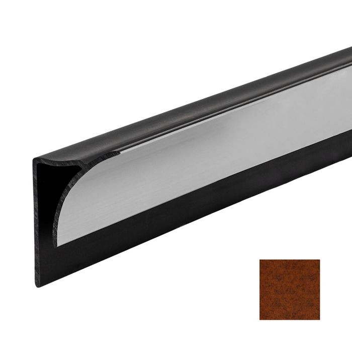 Moonstone Copper Finish Inside Corner Trim for Flexlam Wall Panels 8' Length