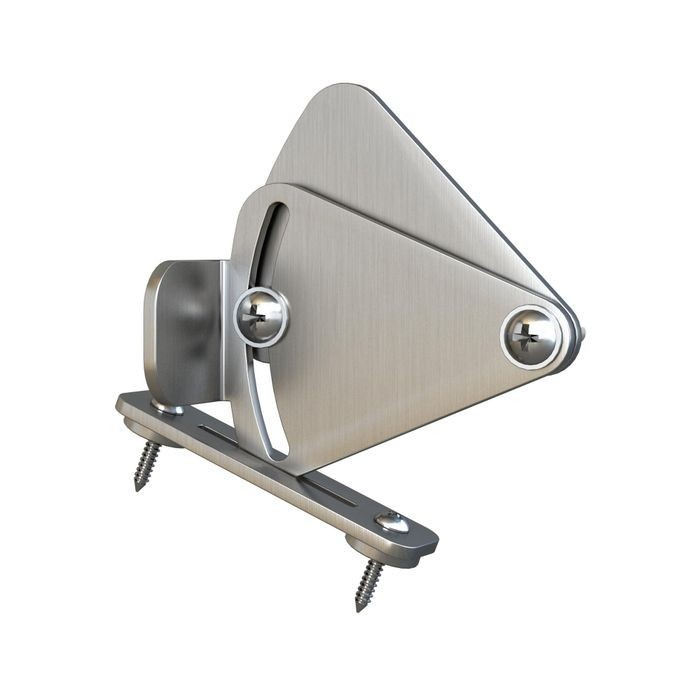 Stainless Steel Finish | Latch for Sliding Barn Doors for Furniture