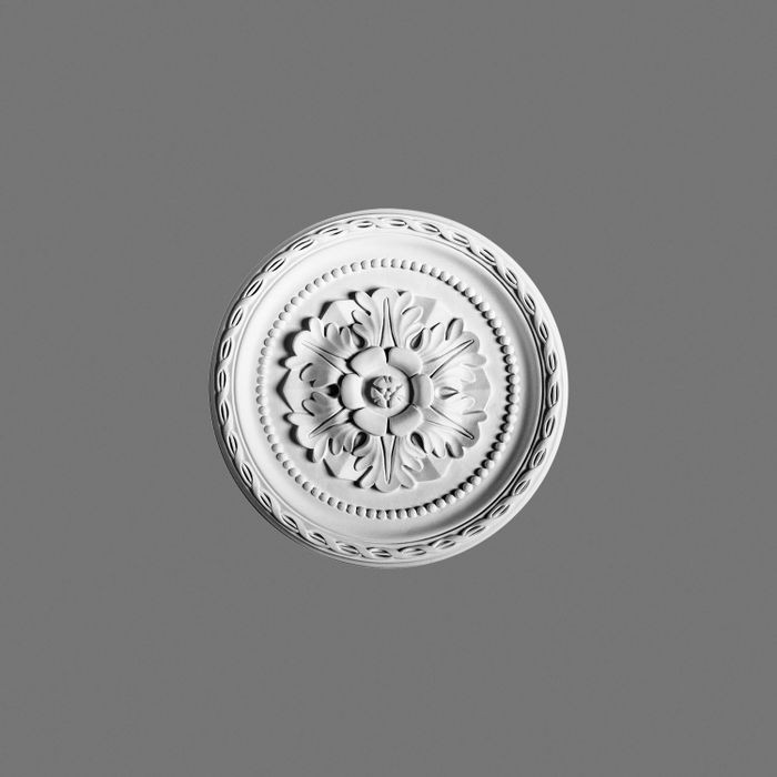 Orac Decor | High Density Polyurethane Ceiling Medallion | Primed White | 11in Dia