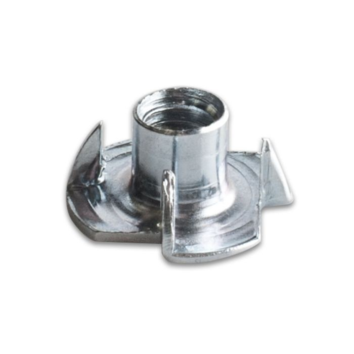 "3/4"" Wide Zinc Plated Hardened Steel Tee Nut"