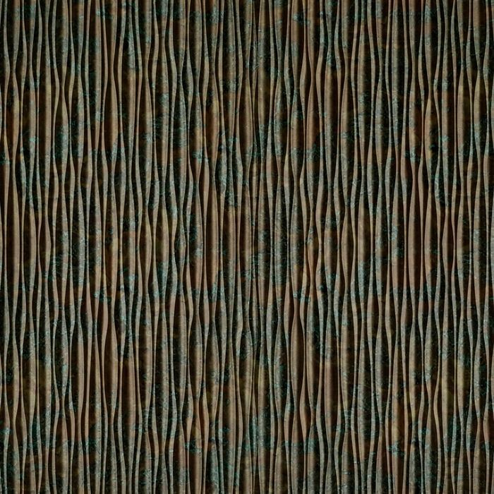 FlexLam 3D Wall Panel | 4ft W x 10ft H | Mojave Pattern | Copper Fantasy Vertical Finish