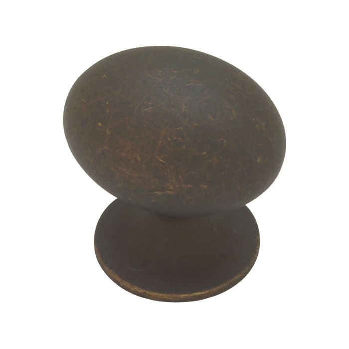 "1.37"" Dia Zinc Diecast Knob Oil Rubbed Bronze (35mm)"