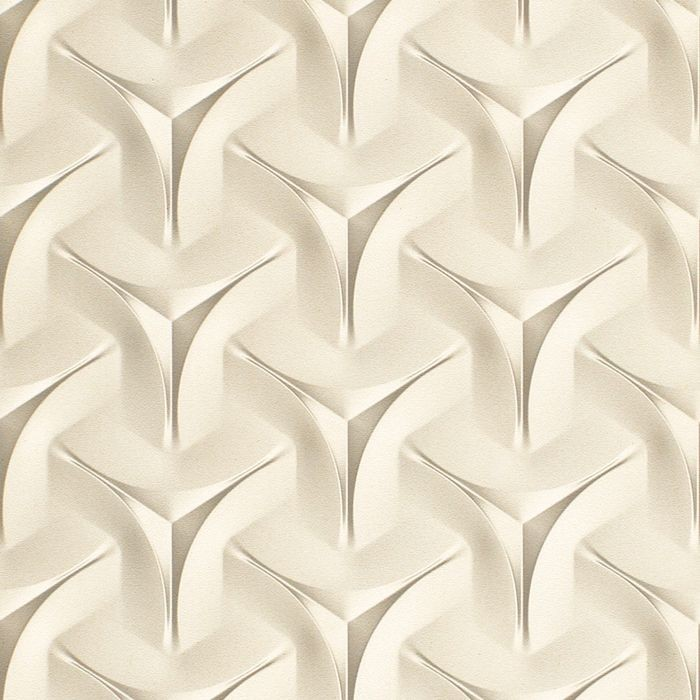 10' Wide x 4' Long Japanease Weave Pattern Winter White Finish Thermoplastic Flexlam Wall Panel