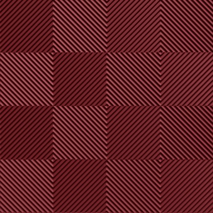 10' Wide x 4' Long Quadro Pattern Merlot Finish Thermoplastic Flexlam Wall Panel